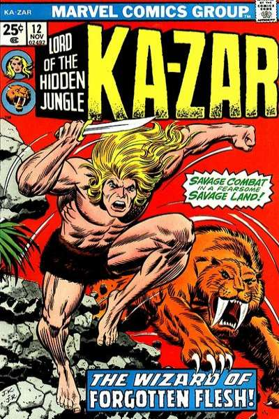 Ka-Zar #12 Comic Books - Covers, Scans, Photos  in Ka-Zar Comic Books - Covers, Scans, Gallery
