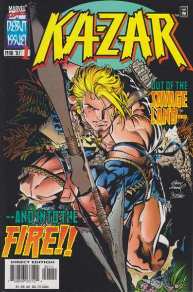 Ka-Zar #1 comic books for sale