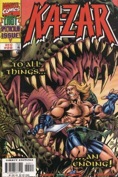 Ka-Zar #20 comic books for sale