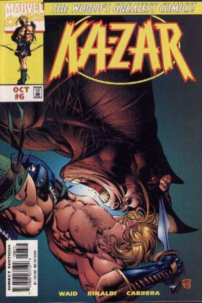 Ka-Zar #6 comic books for sale