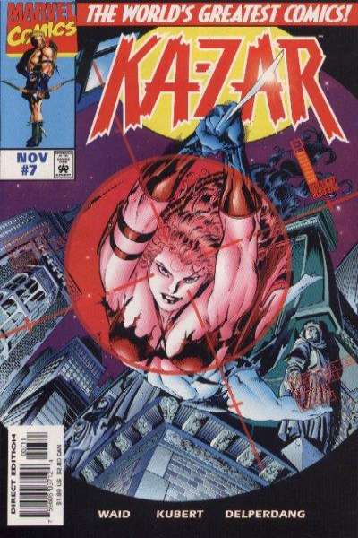 Ka-Zar #7 comic books for sale