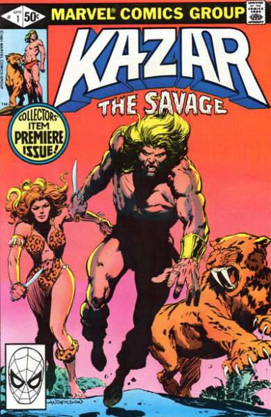 Ka-Zar the Savage #1 comic books for sale