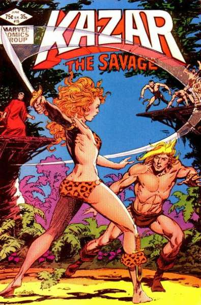 Ka-Zar the Savage #15 comic books for sale