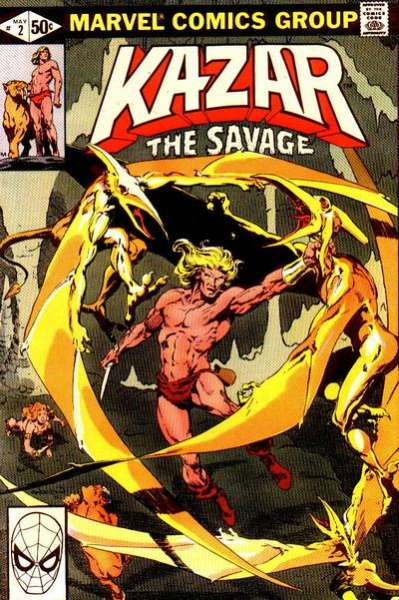 Ka-Zar the Savage #2 comic books for sale