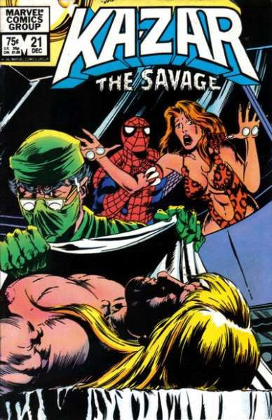 Ka-Zar the Savage #21 comic books for sale