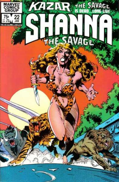 Ka-Zar the Savage #22 comic books for sale