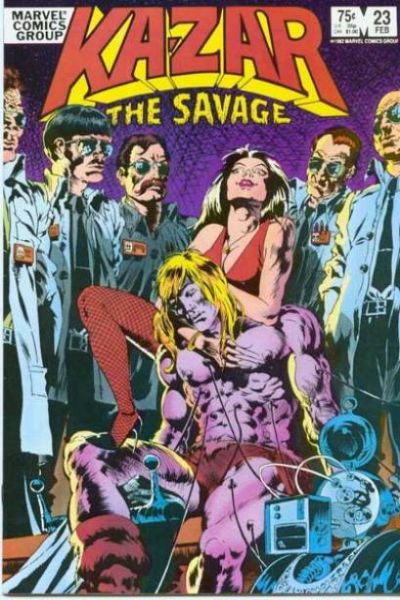 Ka-Zar the Savage #23 comic books for sale