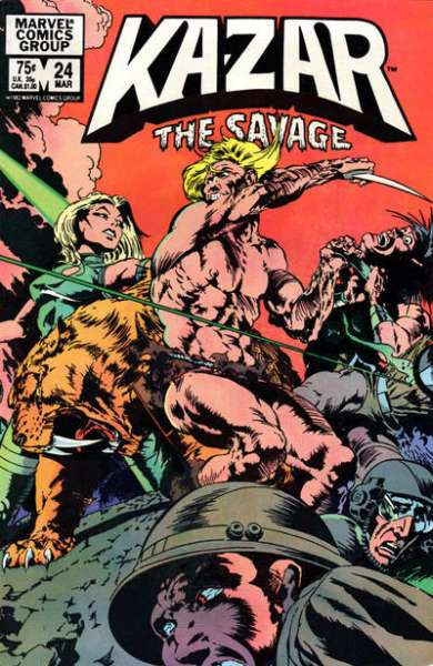 Ka-Zar the Savage #24 comic books for sale