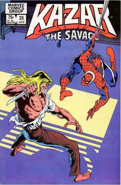 Ka-Zar the Savage #25 comic books for sale