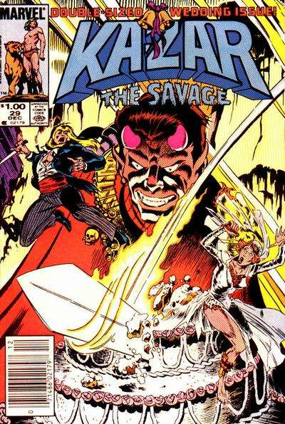 Ka-Zar the Savage #29 comic books for sale