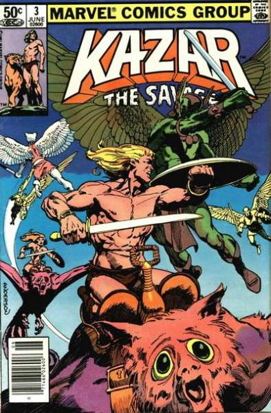 Ka-Zar the Savage #3 comic books for sale