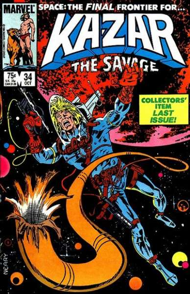 Ka-Zar the Savage #34 Comic Books - Covers, Scans, Photos  in Ka-Zar the Savage Comic Books - Covers, Scans, Gallery