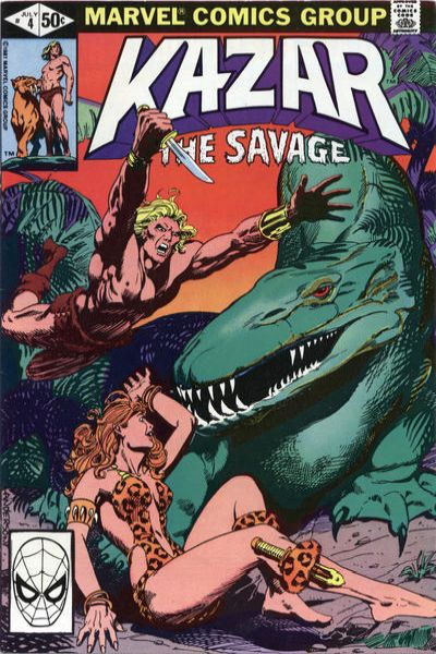 Ka-Zar the Savage #4 comic books for sale