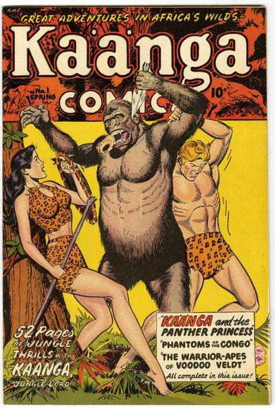 Kaanga Comics comic books