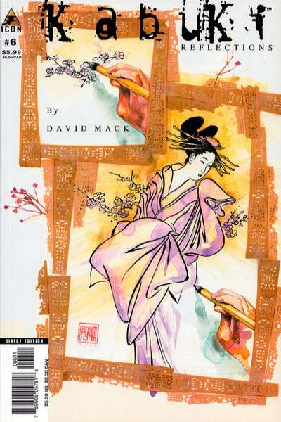 Kabuki: Reflections #6 comic books for sale