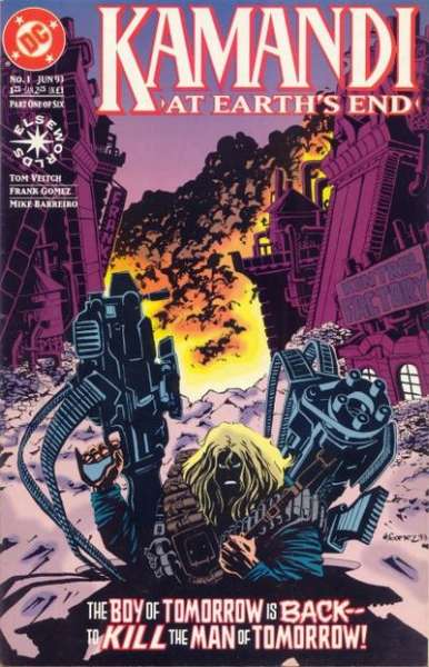 Kamandi: At Earth's End comic books