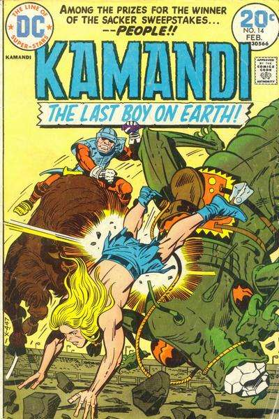 Kamandi: The Last Boy on Earth #14 Comic Books - Covers, Scans, Photos  in Kamandi: The Last Boy on Earth Comic Books - Covers, Scans, Gallery