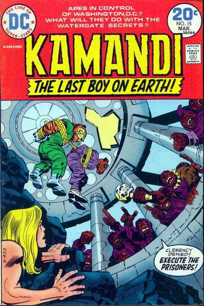 Kamandi: The Last Boy on Earth #15 Comic Books - Covers, Scans, Photos  in Kamandi: The Last Boy on Earth Comic Books - Covers, Scans, Gallery