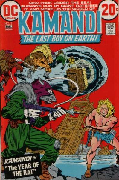 Kamandi: The Last Boy on Earth #2 comic books - cover scans photos Kamandi: The Last Boy on Earth #2 comic books - covers, picture gallery