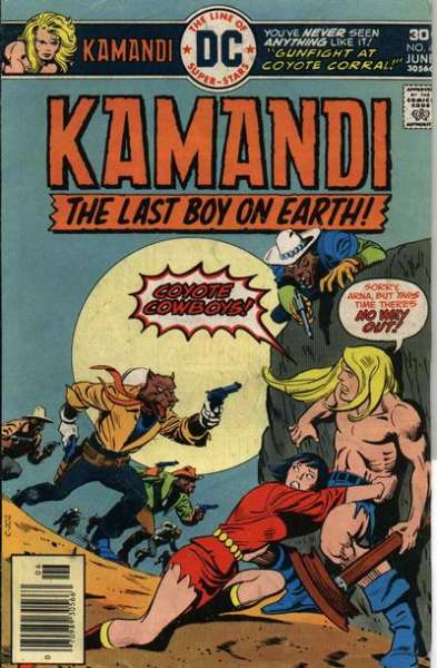 Kamandi: The Last Boy on Earth #42 Comic Books - Covers, Scans, Photos  in Kamandi: The Last Boy on Earth Comic Books - Covers, Scans, Gallery