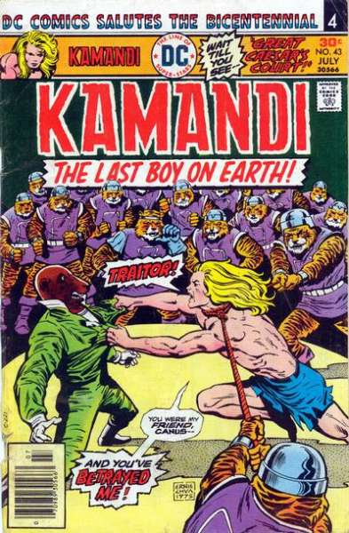 Kamandi: The Last Boy on Earth #43 Comic Books - Covers, Scans, Photos  in Kamandi: The Last Boy on Earth Comic Books - Covers, Scans, Gallery
