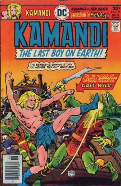 Kamandi: The Last Boy on Earth #44 Comic Books - Covers, Scans, Photos  in Kamandi: The Last Boy on Earth Comic Books - Covers, Scans, Gallery