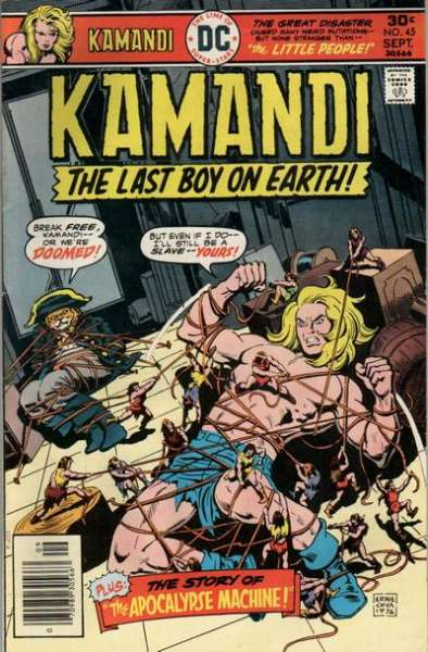 Kamandi: The Last Boy on Earth #45 Comic Books - Covers, Scans, Photos  in Kamandi: The Last Boy on Earth Comic Books - Covers, Scans, Gallery