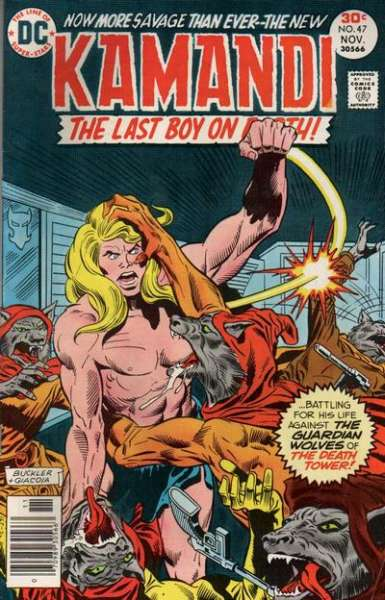Kamandi: The Last Boy on Earth #47 Comic Books - Covers, Scans, Photos  in Kamandi: The Last Boy on Earth Comic Books - Covers, Scans, Gallery