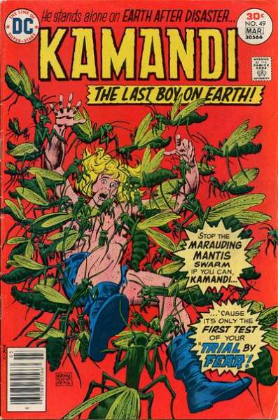 Kamandi: The Last Boy on Earth #49 comic books - cover scans photos Kamandi: The Last Boy on Earth #49 comic books - covers, picture gallery