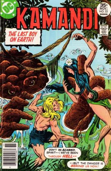 Kamandi: The Last Boy on Earth #53 comic books - cover scans photos Kamandi: The Last Boy on Earth #53 comic books - covers, picture gallery