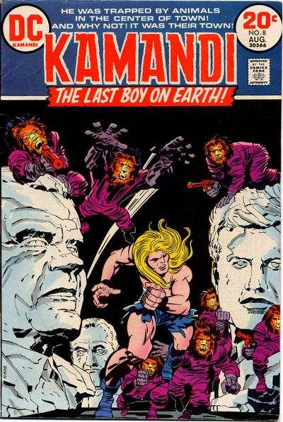 Kamandi: The Last Boy on Earth #8 comic books - cover scans photos Kamandi: The Last Boy on Earth #8 comic books - covers, picture gallery