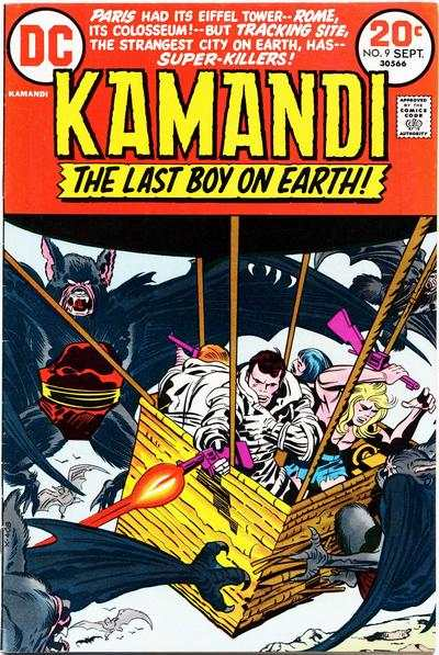 Kamandi: The Last Boy on Earth #9 comic books - cover scans photos Kamandi: The Last Boy on Earth #9 comic books - covers, picture gallery