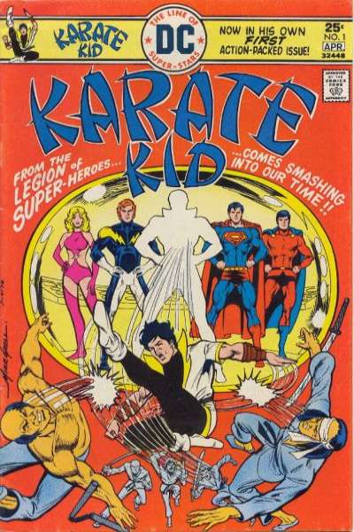 Karate Kid comic books