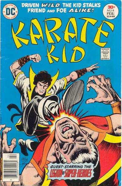 Karate Kid #6 comic books for sale