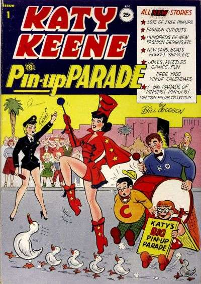 Katy Keene Pinup Parade comic books