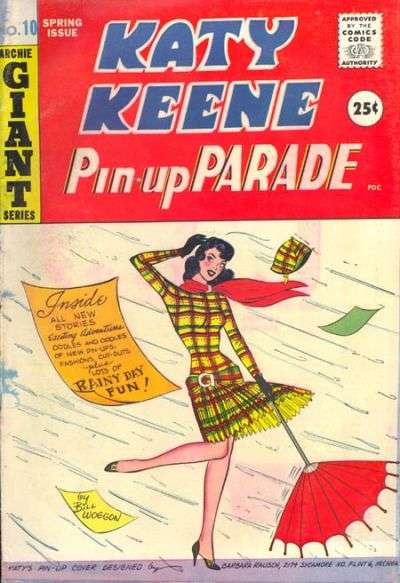 Katy Keene Pinup Parade #10 comic books for sale