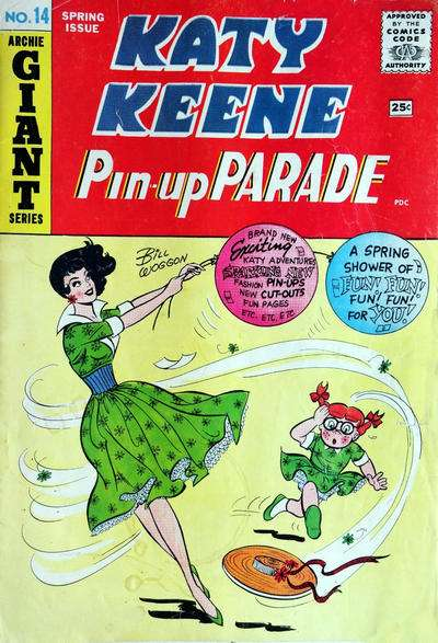 Katy Keene Pinup Parade #14 Comic Books - Covers, Scans, Photos  in Katy Keene Pinup Parade Comic Books - Covers, Scans, Gallery