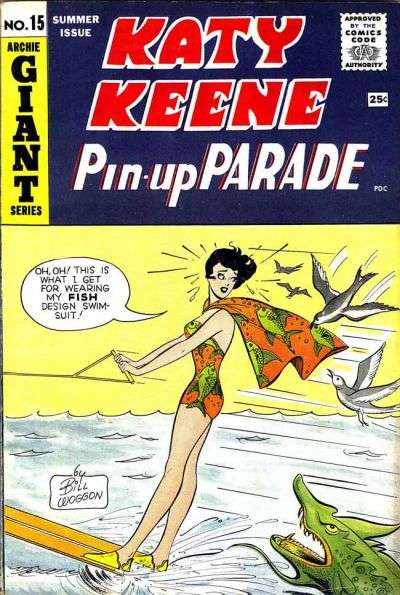 Katy Keene Pinup Parade #15 comic books for sale