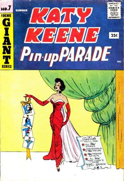 Katy Keene Pinup Parade #7 comic books - cover scans photos Katy Keene Pinup Parade #7 comic books - covers, picture gallery