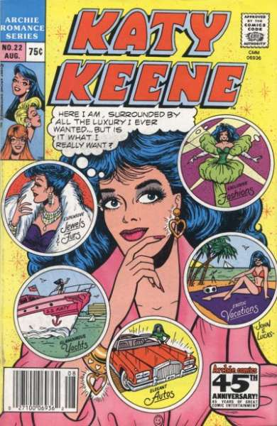 Katy Keene Special #22 Comic Books - Covers, Scans, Photos  in Katy Keene Special Comic Books - Covers, Scans, Gallery