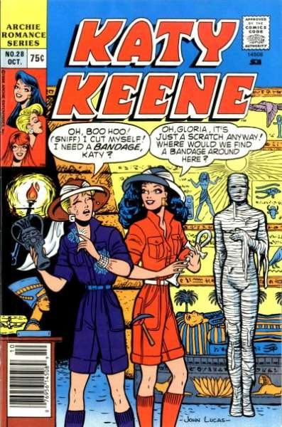 Katy Keene Special #28 comic books for sale