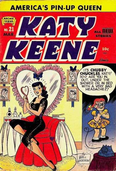 Katy Keene #21 Comic Books - Covers, Scans, Photos  in Katy Keene Comic Books - Covers, Scans, Gallery