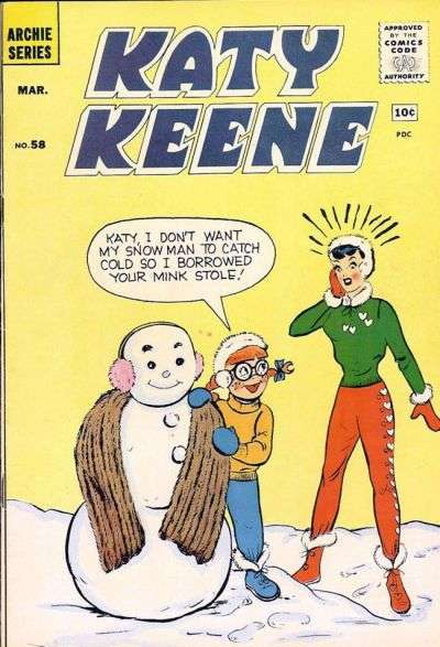 Katy Keene #58 comic books for sale