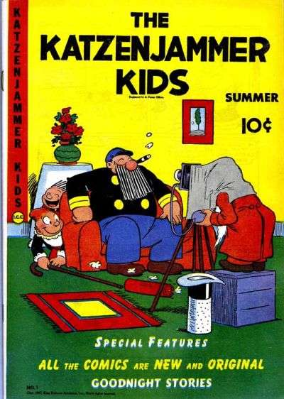 Katzenjammer Kids comic books
