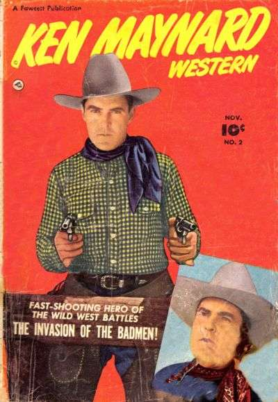 Ken Maynard Western #2 comic books - cover scans photos Ken Maynard Western #2 comic books - covers, picture gallery