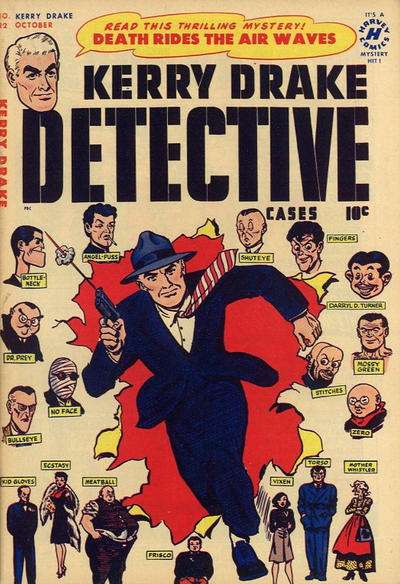 Kerry Drake Detective Cases #22 comic books for sale