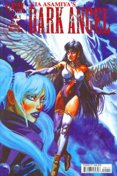 Kia Asamiya's Dark Angel comic books