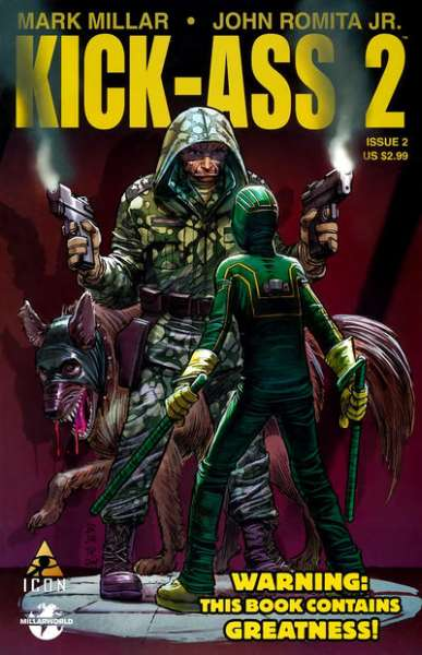 Kick-Ass 2 #2 comic books - cover scans photos Kick-Ass 2 #2 comic books - covers, picture gallery