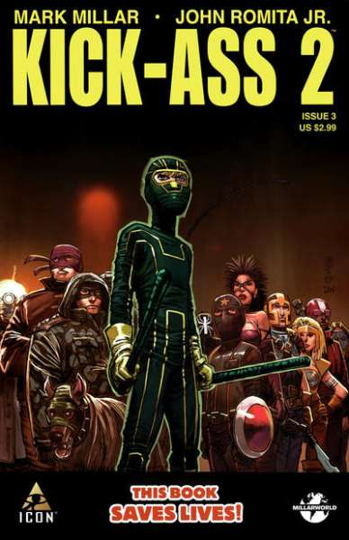 Kick-Ass 2 #3 Comic Books - Covers, Scans, Photos  in Kick-Ass 2 Comic Books - Covers, Scans, Gallery
