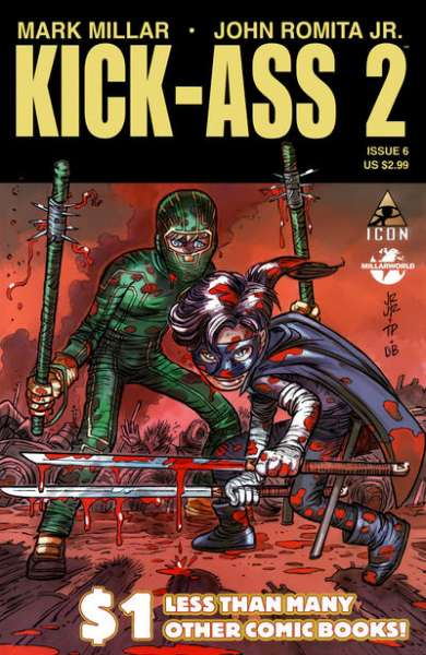 Kick-Ass 2 #6 Comic Books - Covers, Scans, Photos  in Kick-Ass 2 Comic Books - Covers, Scans, Gallery